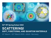 50th IFF Spring School