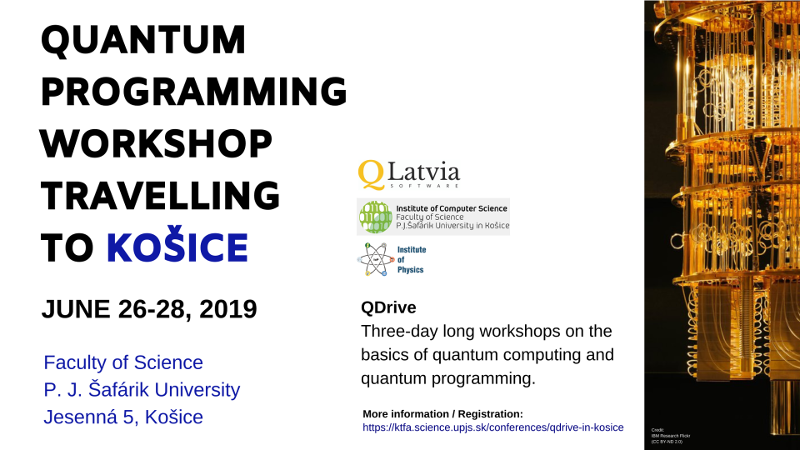 Quantum Programming Workshop 2019